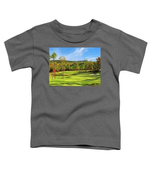 North Carolina Golf Course 14th Hole Toddler T-Shirt