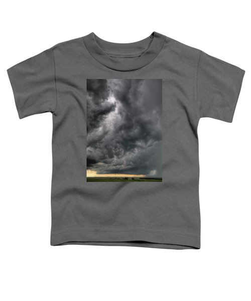 North Dakota Thunderstorm Toddler T-Shirt