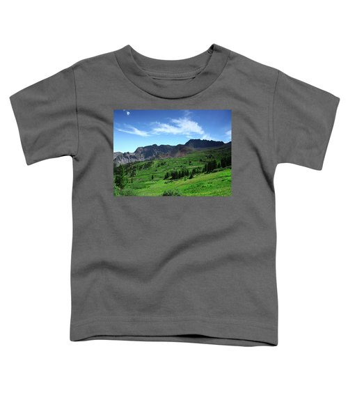 North Fork Lake Toddler T-Shirt