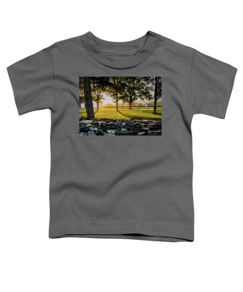 North Road Fog Toddler T-Shirt