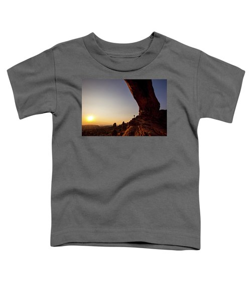 Toddler T-Shirt featuring the photograph North Window Arch3 by Whit Richardson
