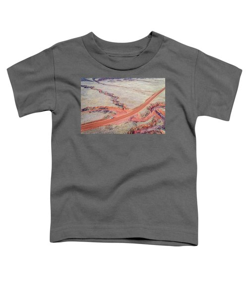 northern Colorado foothills aerial view Toddler T-Shirt