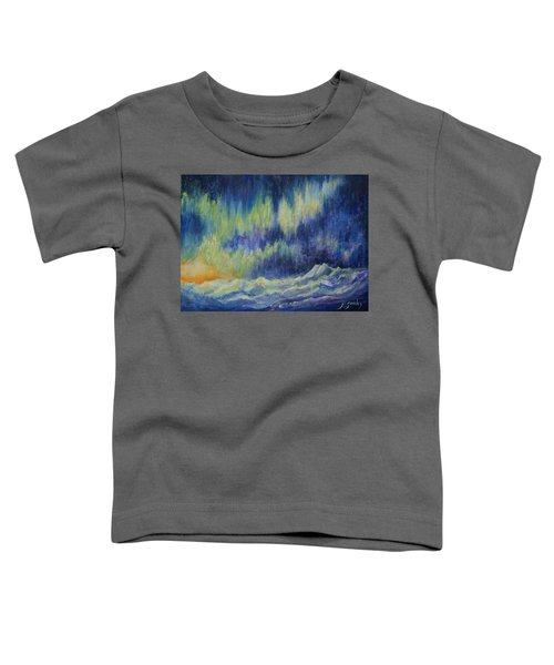 Toddler T-Shirt featuring the painting Northern Experience by Joanne Smoley