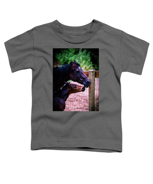 Nose To Nose Toddler T-Shirt