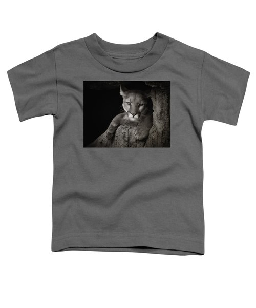 Not A Happy Cat Toddler T-Shirt