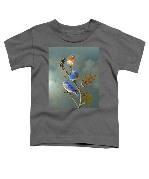 Nothing But Bluebirds Toddler T-Shirt