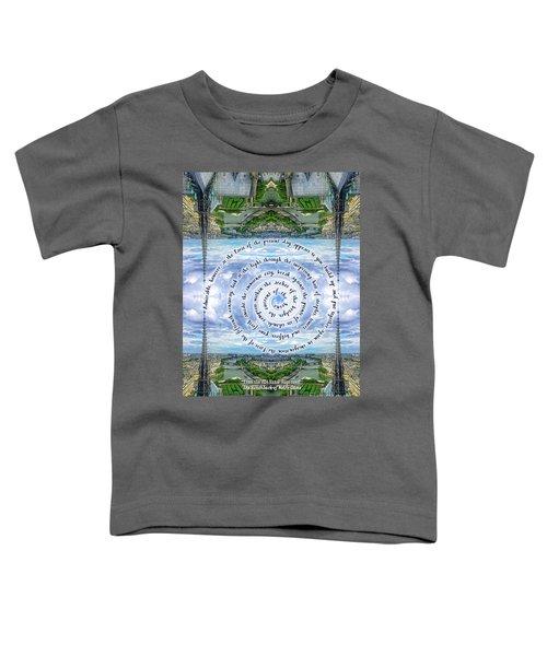 Notre-dame Cathedral Spire Paris Victor Hugo Novel Toddler T-Shirt