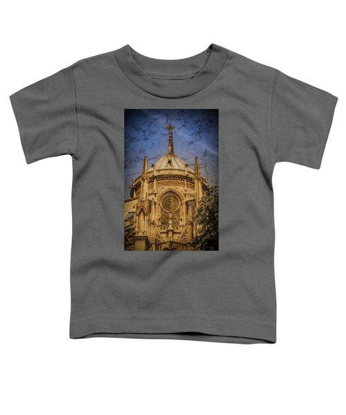 Paris, France - Notre-dame De Paris - Apse Toddler T-Shirt