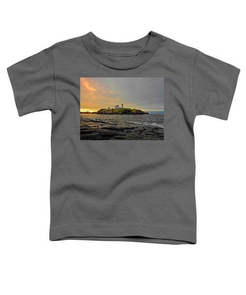 Nubble Lighthouse Toddler T-Shirt