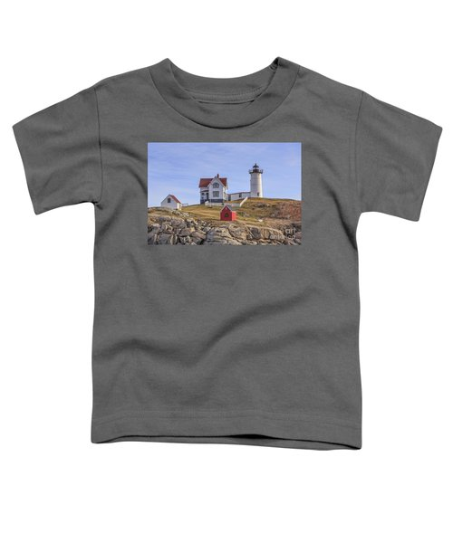 Nubble Lighthouse York Maine Toddler T-Shirt