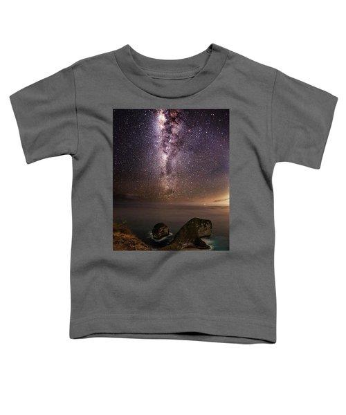 Nusa Penida Beach At Night Toddler T-Shirt