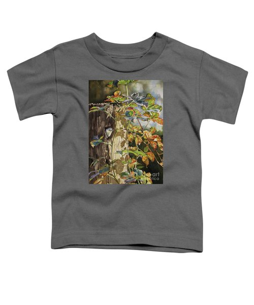 Nuthatch And Creeper Toddler T-Shirt