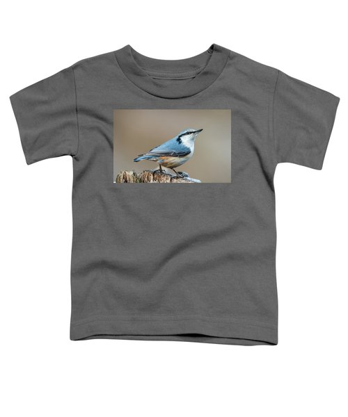 Nuthatch's Pose Toddler T-Shirt