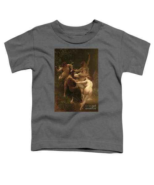 Nymphs And Satyr Toddler T-Shirt