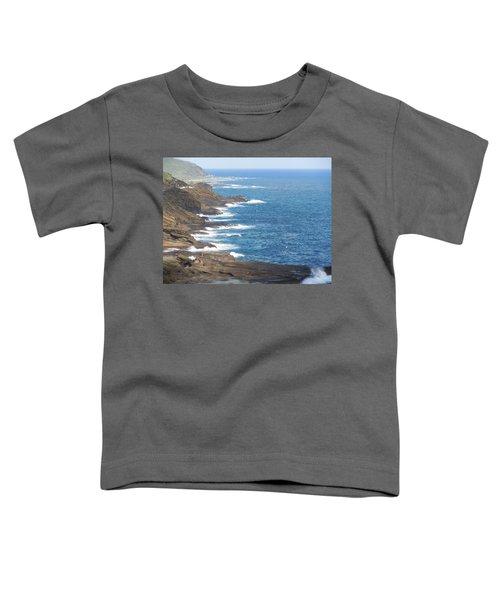 Oahu Coastline Toddler T-Shirt
