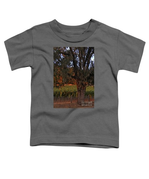 Oak Tree And Vineyards In Knight's Valley Toddler T-Shirt