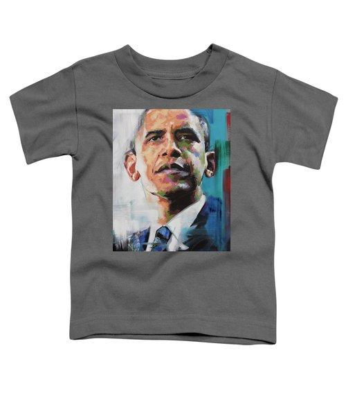 Obama Toddler T-Shirt by Richard Day