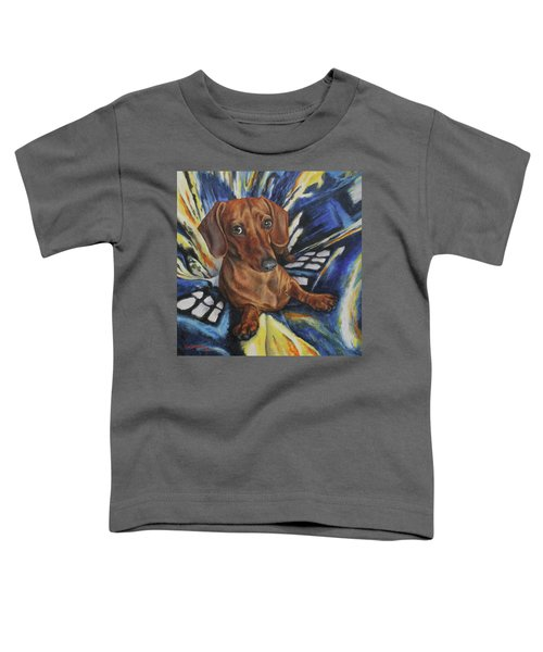 Dachshund Time Lord Toddler T-Shirt