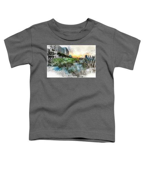 Ocean Drive Easter Sunrise Toddler T-Shirt