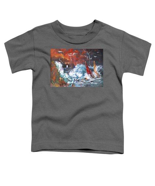 Ocean Fury Toddler T-Shirt