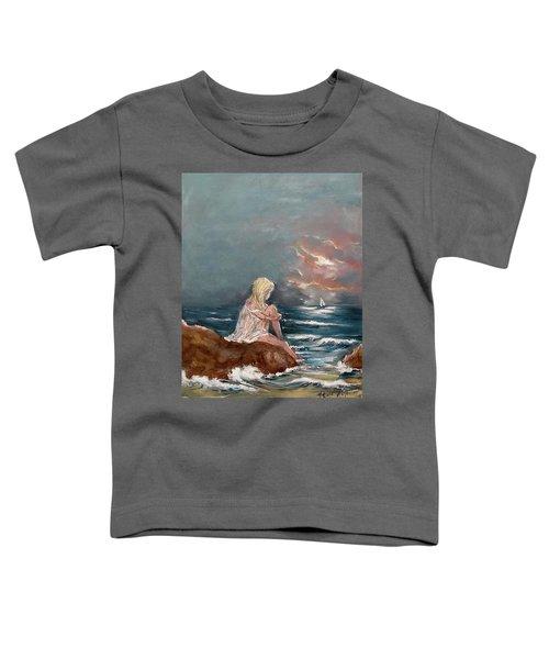 Oceanic Relaxation Toddler T-Shirt