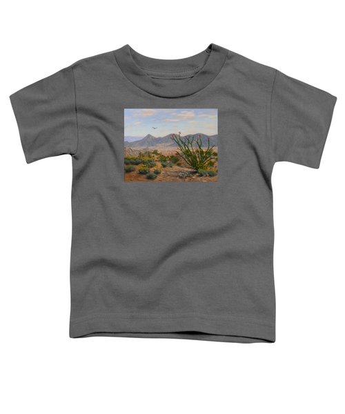 Ocotillo Paradise Toddler T-Shirt