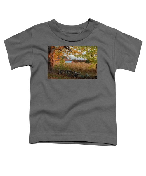 Toddler T-Shirt featuring the photograph October Morning 2016 by Bill Wakeley