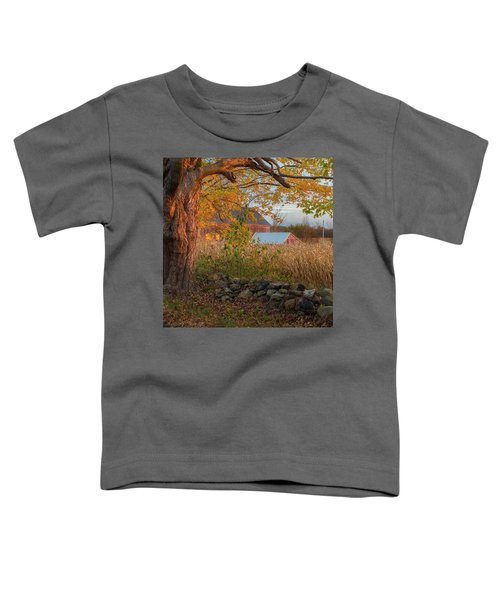 Toddler T-Shirt featuring the photograph October Morning 2016 Square by Bill Wakeley