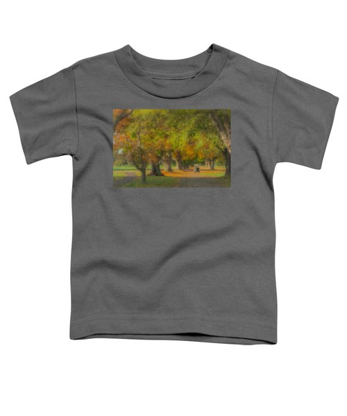 October Morning At Easton Country Club Toddler T-Shirt