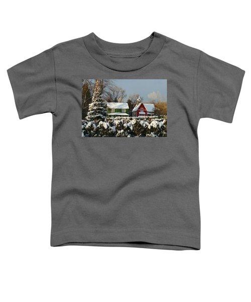 October Snow Toddler T-Shirt