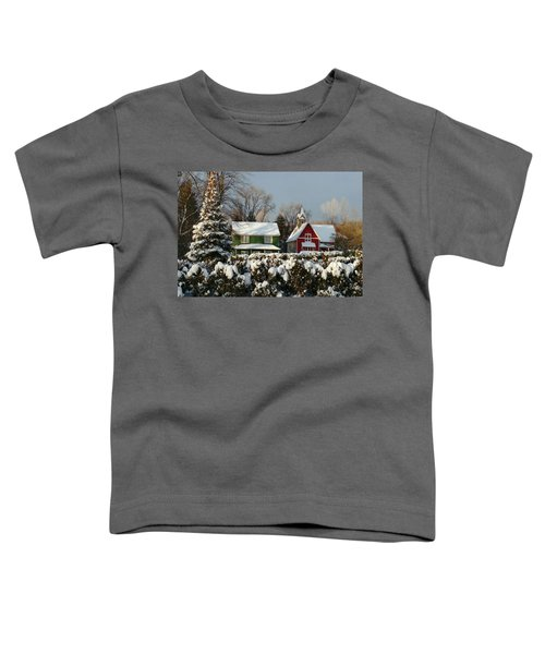 October Snow Toddler T-Shirt
