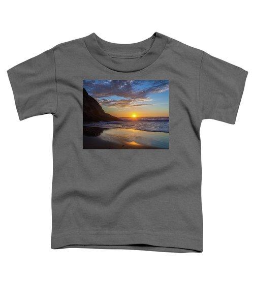 October Sunset Strands Beach Toddler T-Shirt