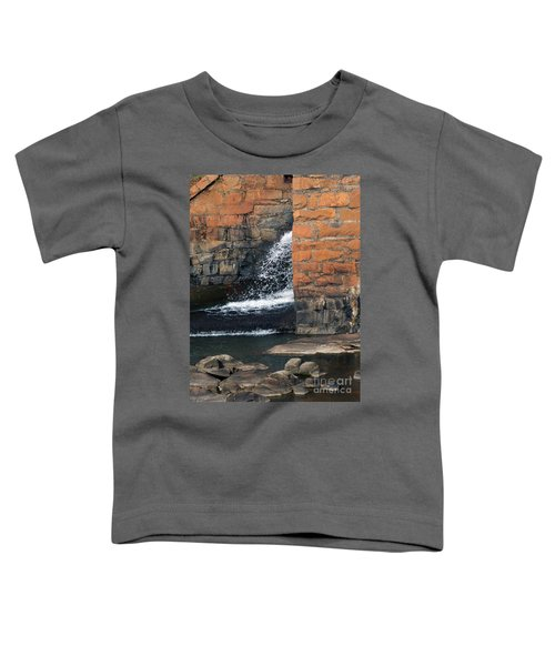 Of Texture And Flow Toddler T-Shirt