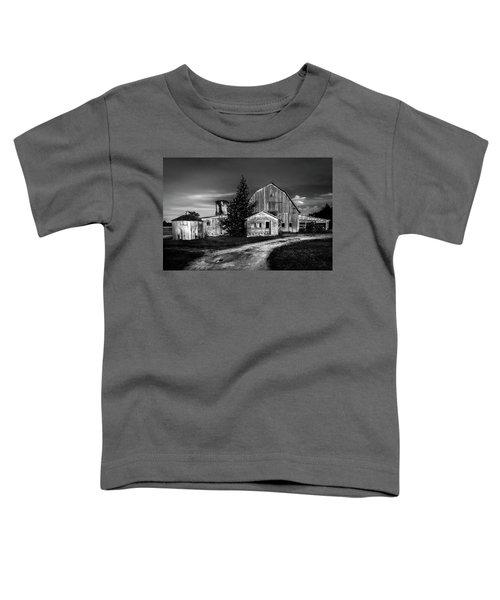Ohio Barn At Sunrise Toddler T-Shirt