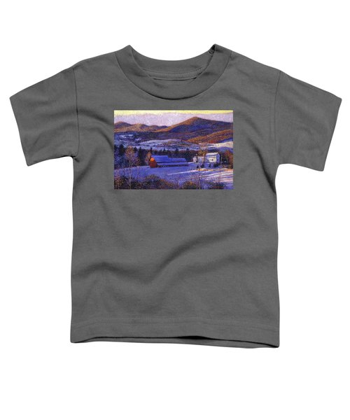 Ohio Winter Blue Toddler T-Shirt