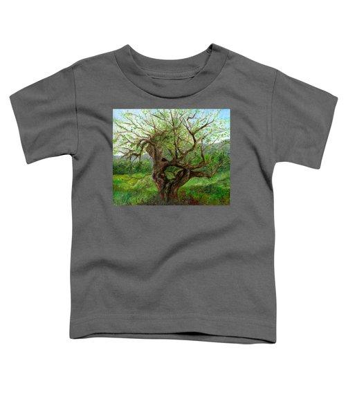 Old Apple Tree Toddler T-Shirt