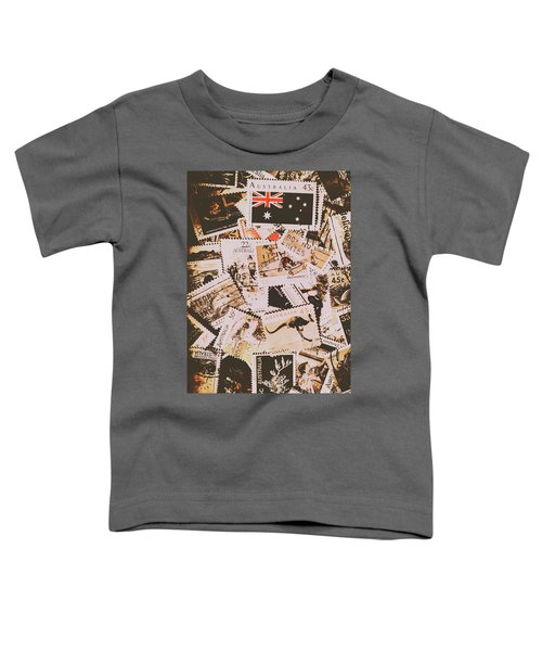 Old Australia In Stamps Toddler T-Shirt