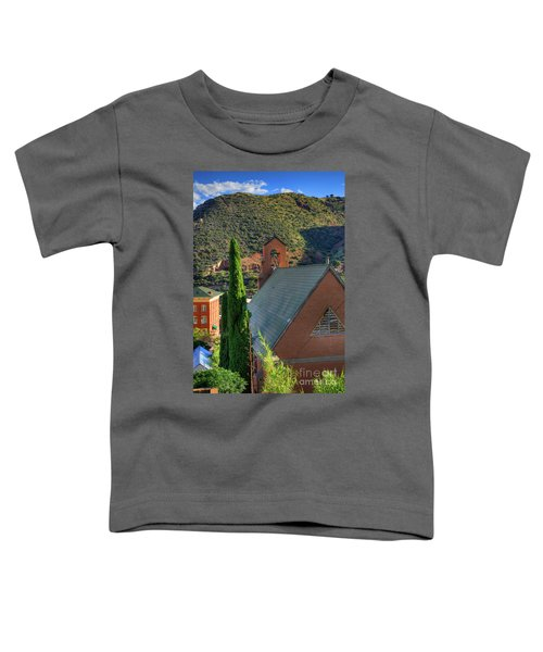 Old Church In Bisbee Toddler T-Shirt