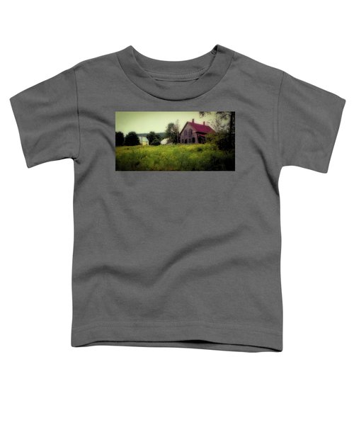 Old Farmhouse - Woodstock, Vermont Toddler T-Shirt