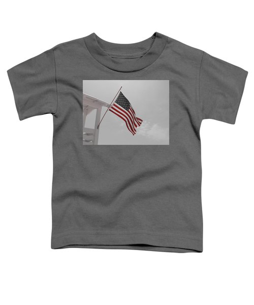 Old Glory Toddler T-Shirt