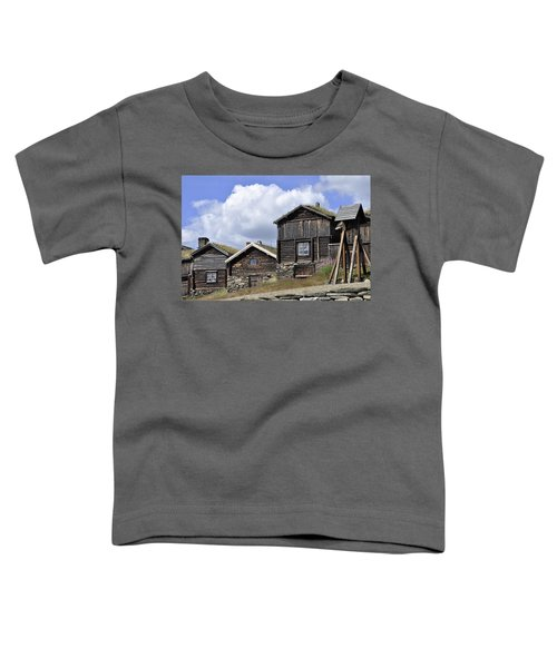 Old Houses In Roeros Toddler T-Shirt