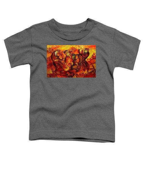 Old Klezmer Band Toddler T-Shirt
