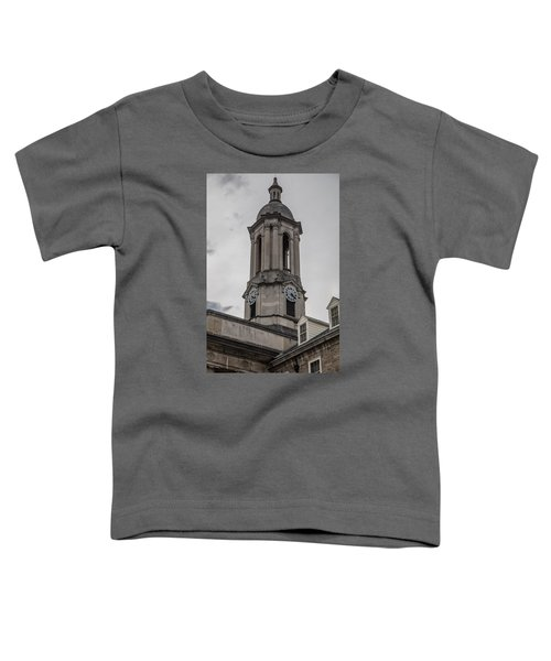 Old Main Penn State Clock  Toddler T-Shirt by John McGraw