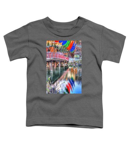 Old Mill Foot Bridge 481 Toddler T-Shirt