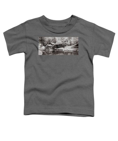 Old Mill On The Mountain Toddler T-Shirt