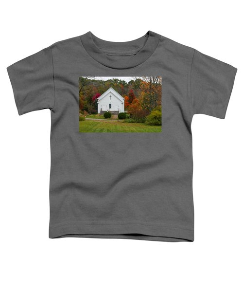 Old New England Church Toddler T-Shirt