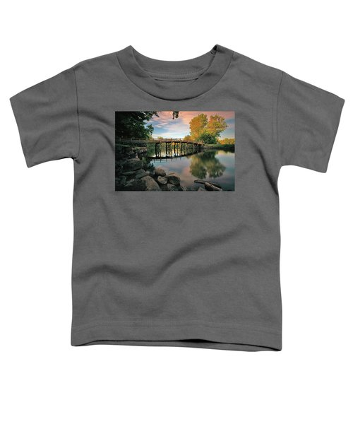 Old North Bridge Toddler T-Shirt
