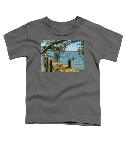 Old Pier On The Tred Avon Toddler T-Shirt