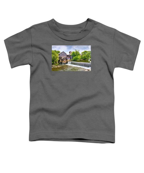 Old Pigeon Forge Mill Toddler T-Shirt