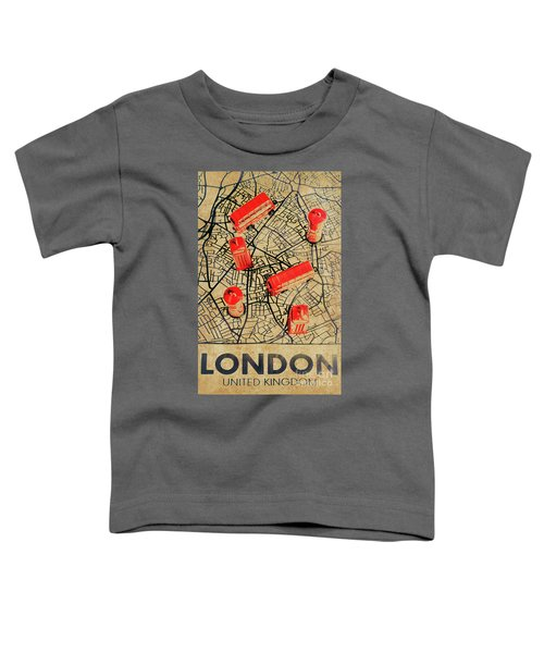 Old Routemaster Way Toddler T-Shirt